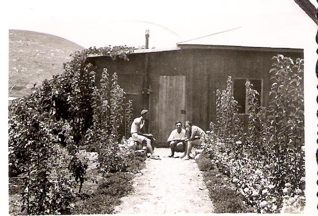 הצריף של חיה ואהרן כהן נבנה ב 1936